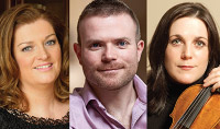 Newry Chamber Music presents A Classical Christmas on December 16 2014 - with Cara O Sullivan (soprano), Joanne Quigley (violin) and David Quigley (piano)