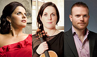 Newry Chamber Music presents A Classical Christmas Celine Byrne (soprano),  Joanne Quigley (violin), David Quigley (piano) Monday 16th December 2013
