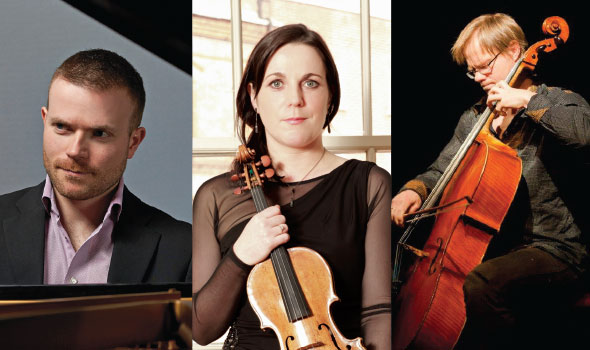 Newry Chamber Music presents David Quigley, Joanne Quigley and Jonathan Aasgaard - February 25th 2016